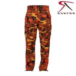 Rothco Orange Camo  BDU Pants