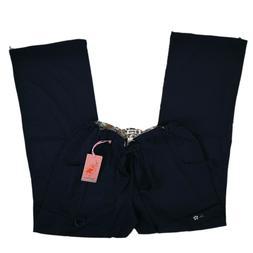 Koi Scrub Pants Cargo Bottoms Navy 701-012 Lindsey