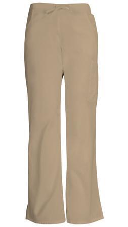 Dickies Scrubs Mid-Rise Women's Cargo Pants 86206 Khaki KHIZ
