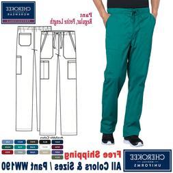 Cherokee Scrubs PROFESSIONAL Men's Drawstring Cargo Pants_WW
