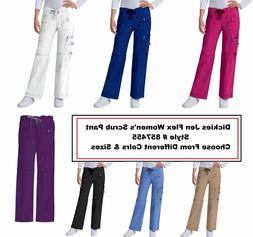 Dickies Scrubs Women Gen Flex 857455 Cargo Pants All Sizes C