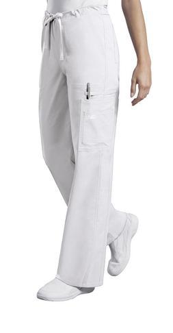 Scrubs Cherokee Workwear Unisex Core Stretch Pant 4043 White
