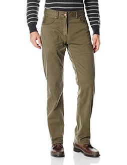 UNIONBAY Men's Shay Stretch 5 Pocket Straight Pant, Cargo Gr
