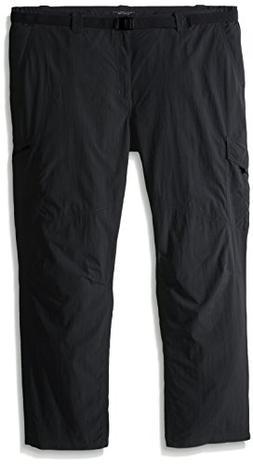 Columbia Silver Ridge Big & Tall Cargo Pant, Grill, 46 x 32