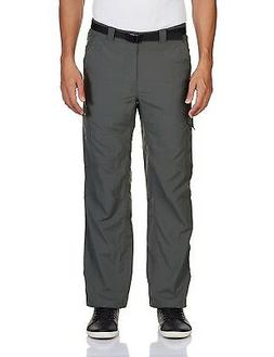 Columbia Men's Silver Ridge Cargo Pant, Gravel, 34x32-Inch
