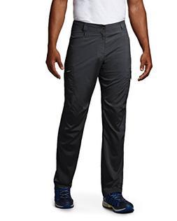 """Columbia Men's Silver Ridge Stretch Pants, 36"""" x 32"""", Black"""