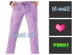 Koi Skinny Lindsey STRETCH cargo scrub pants 710 ALL SIZE &