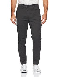 Levi's Men's Slim Taper Cargo Pant, Graphite/Soft wash Stret