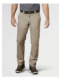 Dickies Men's Slim Taper Stretch Twill Work Pant, Desert San