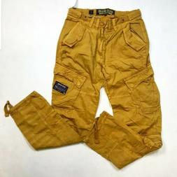 AKOO SOLID CARGO 8 POCKET MENS WHEAT COLOR HUNTING PANTS 100