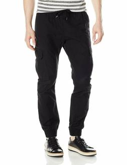 Southpole Men'S Jogger Pants Washed Ripstop Fabric With Carg