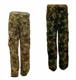 SOUTHPOLE SP Collection Mens Ripstop CAMO Cargo Long Pants 6