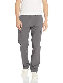 Amazon Essentials Men's Straight-Fit Cargo Pant, Dark Grey,