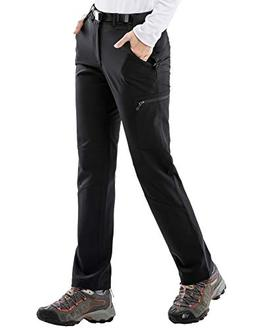 MIER Women's Stretch Cargo Hiking Pants Lightweight Tactical