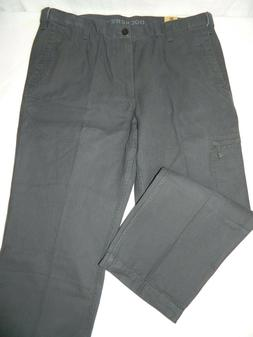 Dockers Stretch Waist Classic Fit Comfort Gray Cargo Pants T