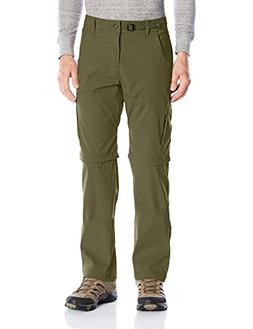 prAna Men's Stretch Zion Convertible Cargo Green, 34