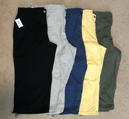 Style&Co Women's Capri Cargo Pants Plus Sizes, Black/Blue/Gr