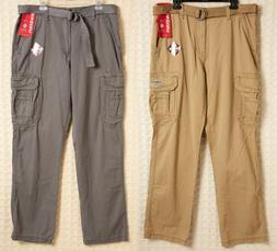 UNIONBAY Survivor CARGO Pants 100% Cotton Men's 36 x 34 New