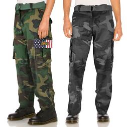 SW Men's Tactical Combat US Force Military Army Cargo Pants