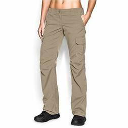 Under Armour Women's Tac Patrol Pants, Desert Sand , Size 6