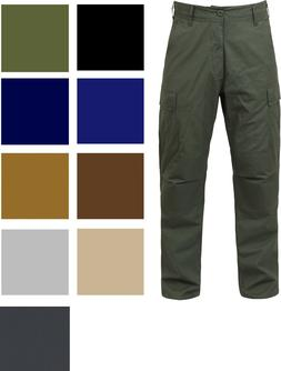 Tactical BDU Cargo Pants Military Uniform Trousers Army Fati