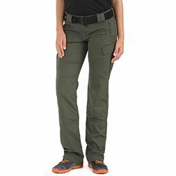 5.11 Tactical Women's EDC Stryke Pants, TDU Green, 6/Regular