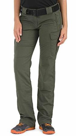 5.11 Tactical Women's EDC Stryke Pants, TDU Green, 6/Long