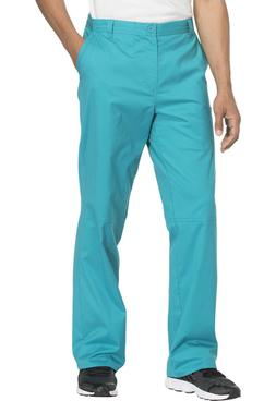 Teal Cherokee Scrubs Workwear Core Stretch Mens Fly Front Pa