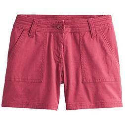 "prAna Tess 3"" Inseam Shorts, Crushed Cran, Size 2"