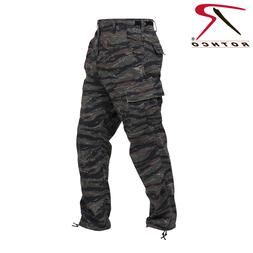 Tiger Stripe Camo BDU Pants Military Style cargo Pants Poly/