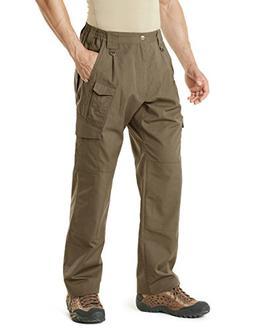 CQR CQ-TLP105-CYT_38W/30L Men's Tactical Pants Lightweight E