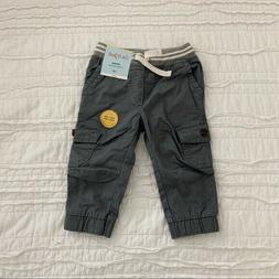 Toddler Boys' Cargo Jogger Pants - Cat & Jack Olive 4T, Gree
