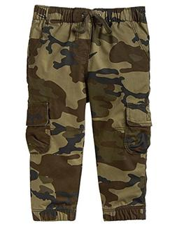 Crazy 8 Boys' Toddler Cargo Jogger Camo, 18-24 mo