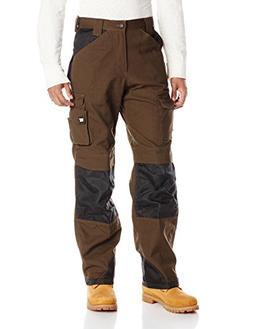 Caterpillar Men's Trademark Trouser, Dark Earth/Black, 36x30