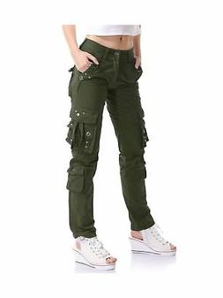 Mens Military Urban Tactical Combat Trousers Casual Cargo Pa