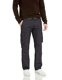 Company 81 Men's Twill Cargo Pants, Charcoal Heather, 32x30