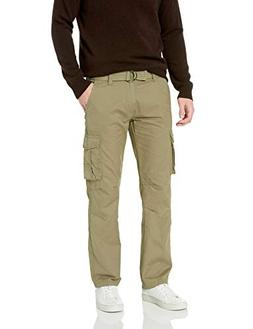Company 81 Men's Twill Cargo Pants, Fatigue, 38x32