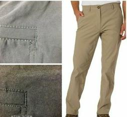 UB TECH Men's Rainier Travel Chino Active Cargo Pants UPF