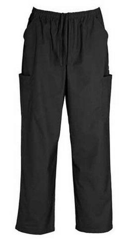 Unisex Scrub Cargo Pockets Pants