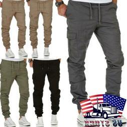 us mens casual pants trousers multi pocket