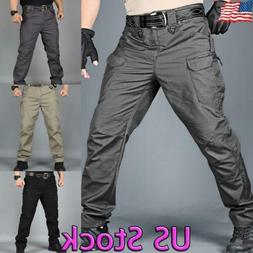 US Mens Tactical Cargo Pants Work Combat Hiking Outdoor Mili