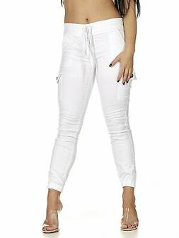 VIP CG  Jeans Collection Cargo High Waisted Jogger Skinny Dr