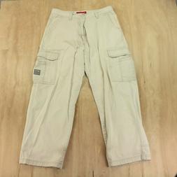 vtg 00s UNIONBAY cargo pants 34 x 29  wide leg straight fade