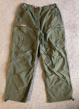 VTG Abercrombie & Fitch Men's Green Nylon Utility Cargo Pant