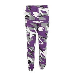 Kinrui Women's Camouflaged Camo Cargo Trousers Cool Pants Mi