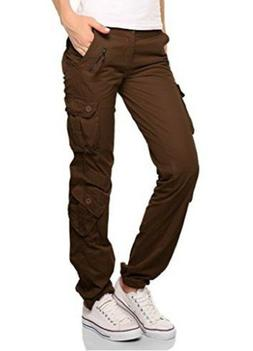 Match Women's Cargo Pants Sports Outdoors Military #2036M(La