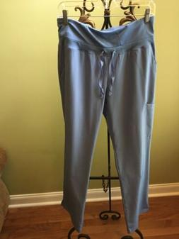 Barco One Women's CIEL BLUE Cargo Pants Scrubs Uniform Size