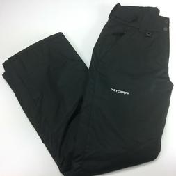 Arctix Women's Insulated Snow Pant Black Water Resistant Siz