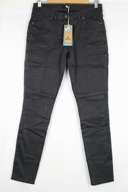 Prana Women's Louisa Cargo Skinny Pants Stretch Size 6 Charc