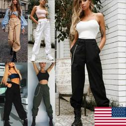 Women's Military Combat Trouser Ladies Cargo Pants Girls Arm